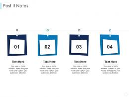 Post It Notes Leaders Guide To Corporate Culture Ppt Brochure