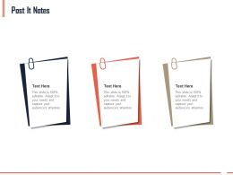 Post It Notes M20 Ppt Powerpoint Presentation Gallery Sample