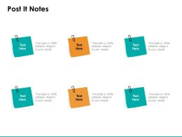 Post It Notes Management C1054 Ppt Powerpoint Presentation Styles Themes