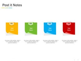 Post It Notes Management C1178 Ppt Powerpoint Presentation Layouts Background