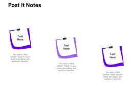 Post It Notes Management C1310 Ppt Powerpoint Presentation Infographics Tips