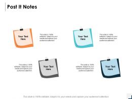Post It Notes Management C355 Ppt Powerpoint Presentation Icon Example Introduction