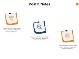 Post It Notes Marketing C1036 Ppt Powerpoint Presentation Layouts Ideas