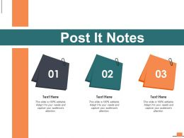 Post It Notes Marketing I57 Ppt Powerpoint Presentation Infographic Template Styles