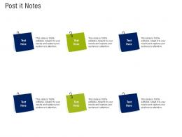 Post It Notes Mission And Vision Statement Ppt Guidelines