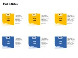 Post It Notes N345 Ppt Powerpoint Presentation Outline Styles