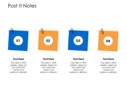 Post It Notes N394 Powerpoint Presentation Format