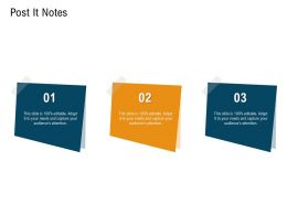 Post It Notes N452 Powerpoint Presentation Design