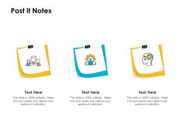Post It Notes Planning L1205 Ppt Powerpoint Presentation Inspiration