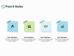 Post It Notes Planning L269 Ppt Powerpoint Presentation Slides