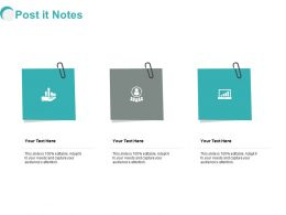 Post It Notes Planning L399 Ppt Powerpoint Presentation Layouts