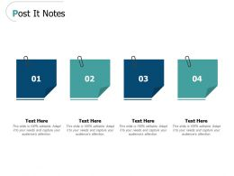 Post It Notes Planning L466 Ppt Powerpoint Presentation Ideas Brochure