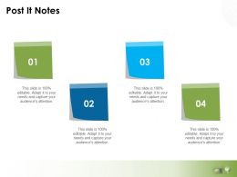 Post It Notes Planning L765 Ppt Powerpoint Presentation Show Inspiration