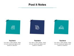 Post It Notes Planning L860 Ppt Powerpoint Presentation Ideas Files