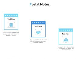 Post It Notes Planning L865 Ppt Powerpoint Presentation Slide