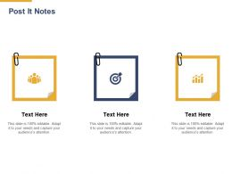 Post It Notes Planning L892 Ppt Powerpoint Presentation Model