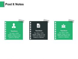 Post It Notes Planning Marketing E407 Ppt Powerpoint Presentation Show Example