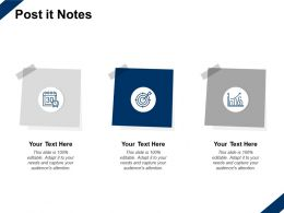 Post It Notes Process Management C349 Ppt Powerpoint Presentation Slides Images