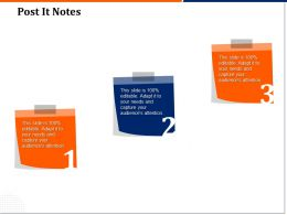Post It Notes R140 Ppt Powerpoint Presentation Icon Designs