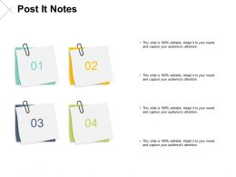 Post It Notes Sticky Notes F152 Ppt Powerpoint Presentation Portfolio Gallery
