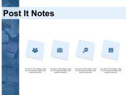 Post It Notes Strategy K209 Ppt Powerpoint Presentation Template Portfolio