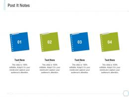 Post It Notes System Integration And Architecture Ppt Sample