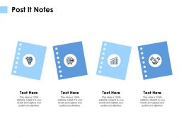 Post It Notes Technology Communication E294 Ppt Powerpoint Presentation Slides Inspiration