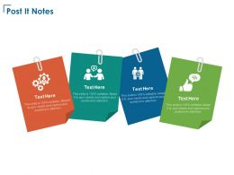Post It Notes Technology Communications E108 Ppt Powerpoint Presentation Infographics Icon