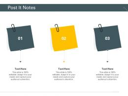 Post It Notes Trucking Company Ppt Designs