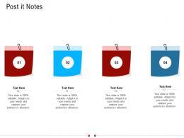 Post It Notes Warehousing Logistics Ppt Themes