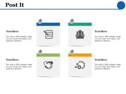 Post It Opportunity Checklist F442 Ppt Powerpoint Presentation Inspiration Infographic Template