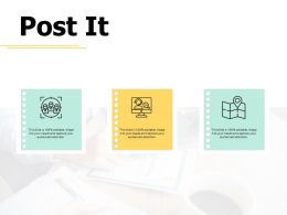Post It Planning A447 Ppt Powerpoint Presentation Slides Template
