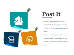 Post It Powerpoint Slide Background Image