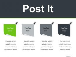 Post It Powerpoint Slide Images