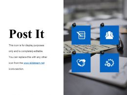 Post It Powerpoint Slide Introduction Powerpoint Slide Images