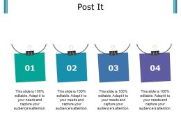 Post It Ppt Outline Graphics Tutorials