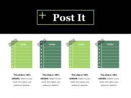 Post It Ppt Visual Aids Example File