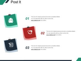 Post It Presentation Images Template 2