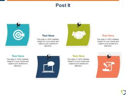 Post It Technology Target L14 Ppt Powerpoint Presentation Styles Icon