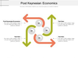 Post Keynesian Economics Ppt Powerpoint Presentation Diagram Templates Cpb