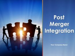 Post Merger Integration Powerpoint Presentation Slides