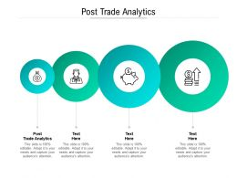 Post Trade Analytics Ppt Powerpoint Presentation Pictures Slides Cpb