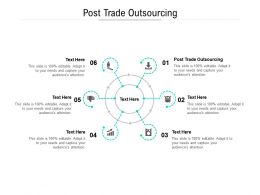 Post Trade Outsourcing Ppt Powerpoint Presentation Pictures Files Cpb