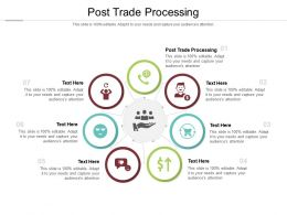 Post Trade Processing Ppt Powerpoint Presentation Infographic Template Ideas Cpb