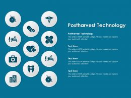 Postharvest Technology Ppt Powerpoint Presentation File Layouts