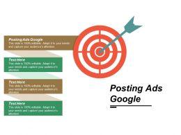 Posting Ads Google Ppt Powerpoint Presentation Portfolio Ideas Cpb