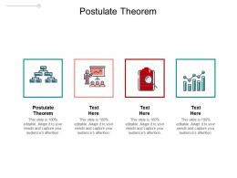 Postulate Theorem Ppt Powerpoint Presentation Summary Tips Cpb