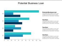 Potential Business Loan Ppt Powerpoint Presentation Summary Graphics Tutorials Cpb
