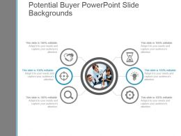 Potential Buyer Powerpoint Slide Backgrounds