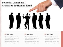 Potential Candidate Attraction By Human Hand